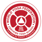 Sello del certificado de World Yoga Federation 500 CYS