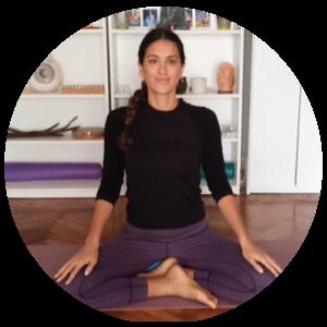 Sabrina Greenberg profesora de yoga