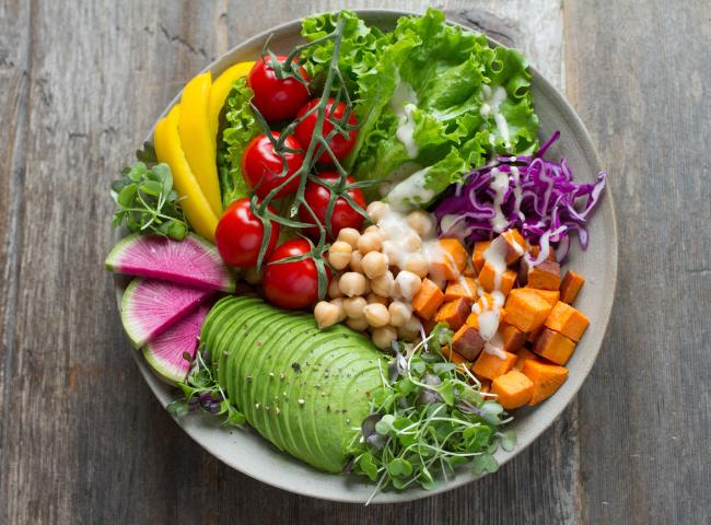 Comida natural y nutritiva