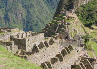 Machu Pichu y sus construcciones originales