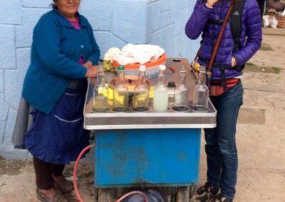 Alexa Traugott en Cuzco