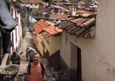 Fernando Calviño en Cusco