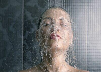 Baño de agua fria