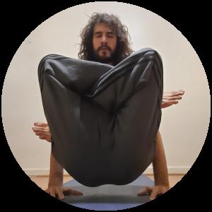 Foto de Mariella Iniesta, alumna de Siddhi yoga